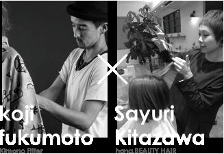 Koji Fukumoto × SayuriKitazawa